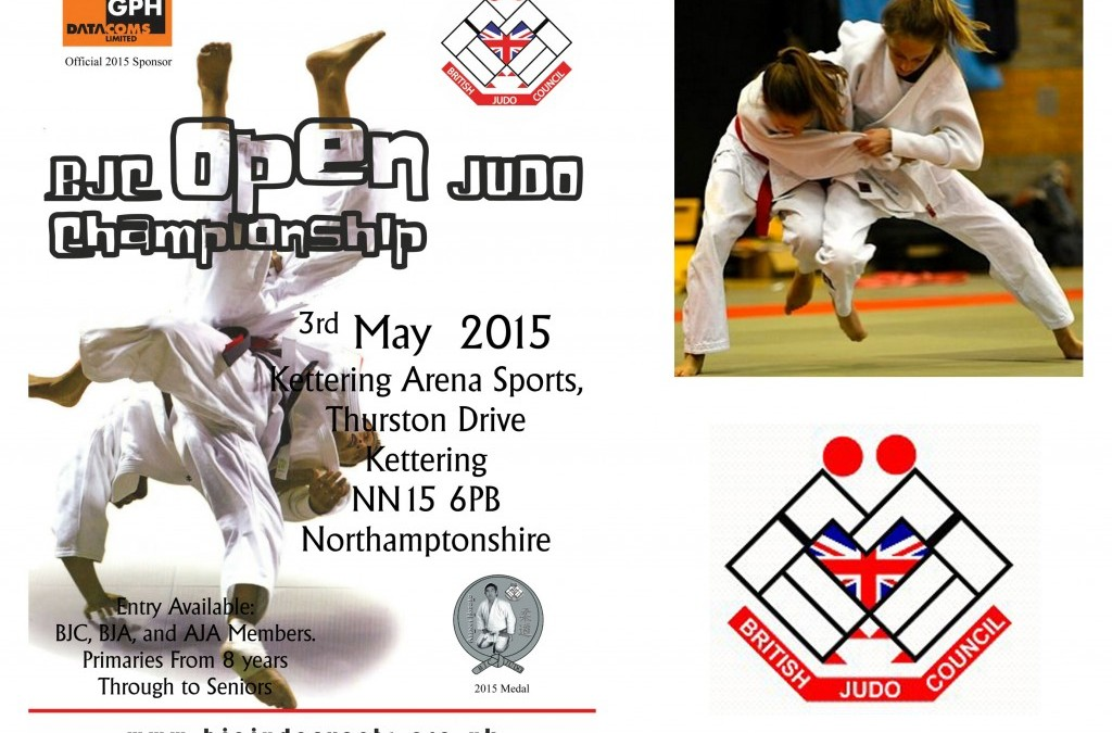 GPH Datacoms sponsor the British Judo Council Championship 3rd May 2015